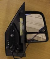 FORD TRANSIT CONNECT O/S DRIVER SIDE ELECTRIC WING MIRROR IN BLACK 2002-2011